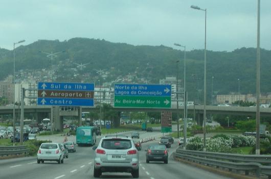 01 Florianopolis hacia la Beira Mar