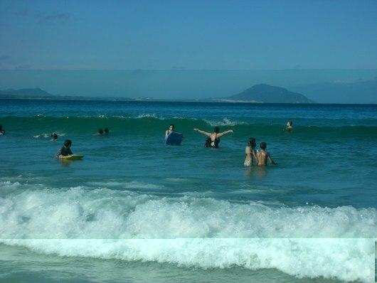 Barra da Lagoa - Praina ondas mar
