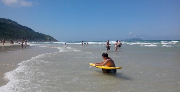 Ingleses, la playa para la familia