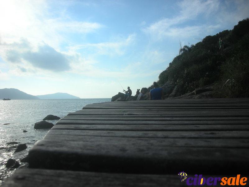 Muelle de playa de los Ingleses costado sur, para pescar