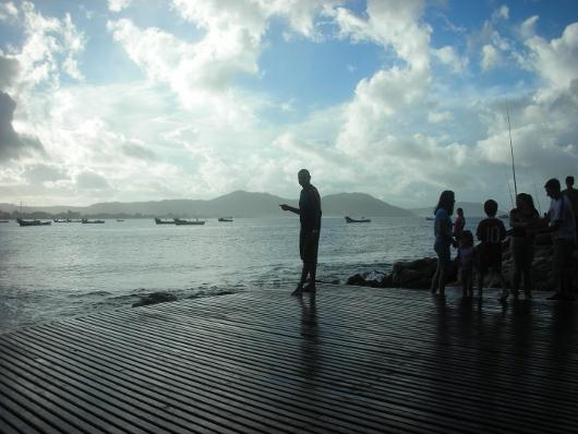 Playa de los Ingleses - Costado Sur para pescar