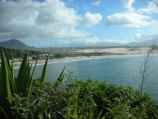 Playa de los ingleses - vista desde costado sur
