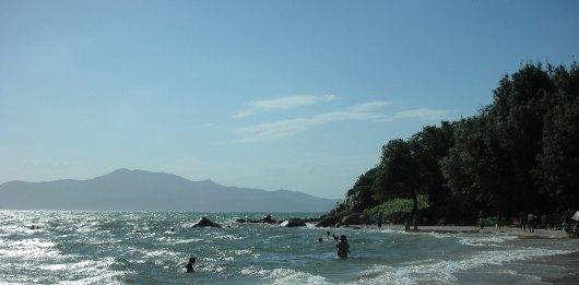 Playa de Ponta das Canas, Florianópolis