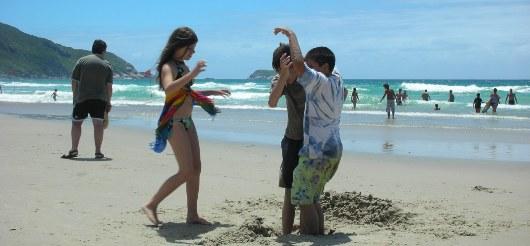 Playa de los Ingleses - Florianópolis Brasil