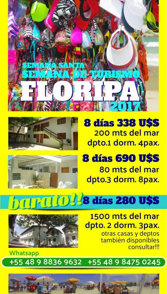Semana de Turismo en Florianópolis.