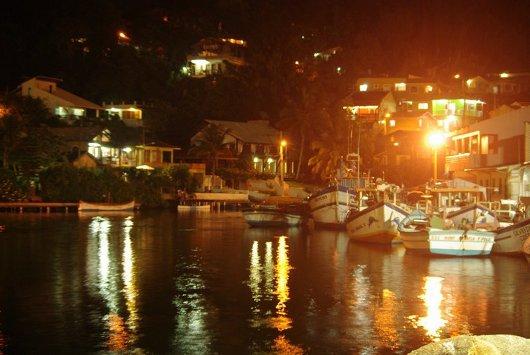 Barra da Lagoa, Florianópolis de noche