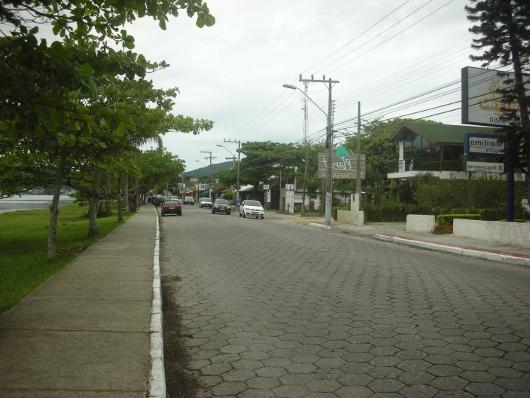 Calle adoquinada de Lagoa de la Concepcion