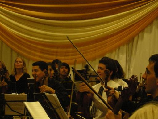 Alegría de los jóvenes músicos
