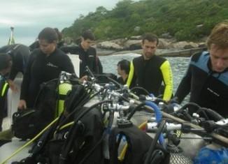 Buceo y snorkeling en Florianópolis