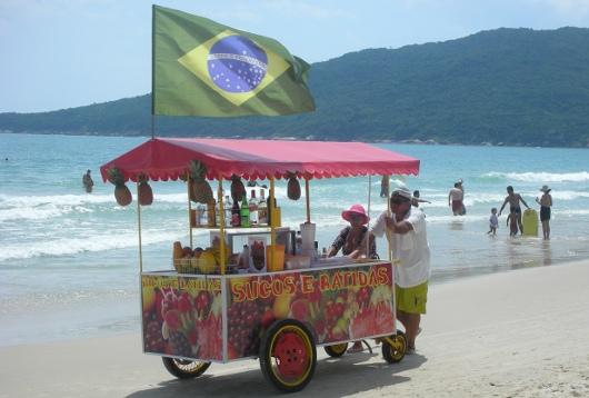 playa de los ingleses - Florianópolis